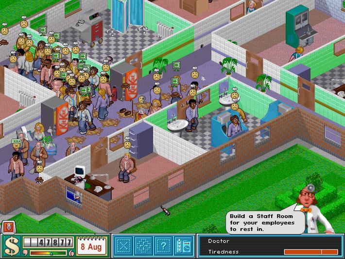 Theme Hospital Captura 1