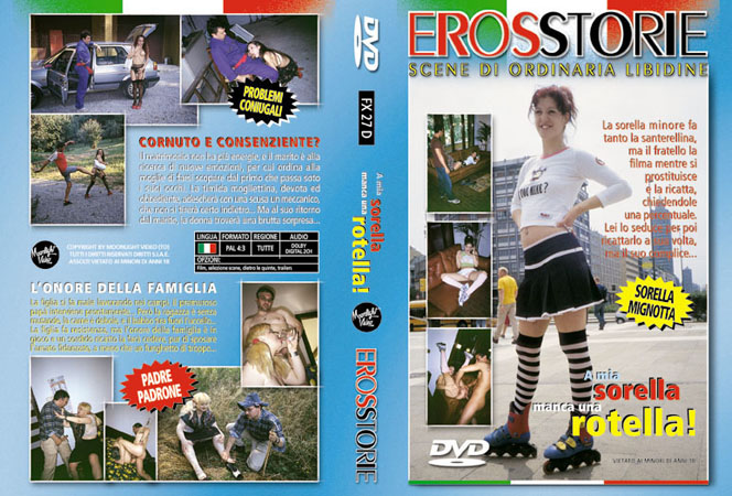 A Mia Sorella Manca Una Rotella / Моя Безбашенная Сестра (Eros Cristaldi, Moonlight Video) [2010 г., Feature, All Sex, Incest, Anal, Facial, DVDRip] (Tamara, Maxo, Sonny Barnett)