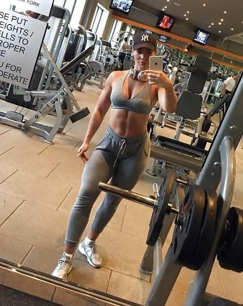 Blonde fit girl porn-3968