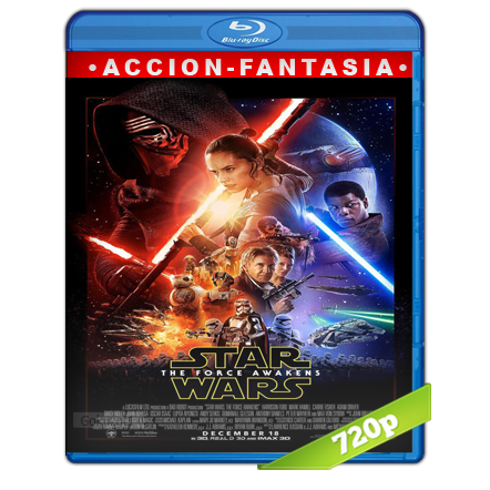 Star Wars Episodio VII El Despertar De La Fuerza (2015) BRRip 720p Audio Trial Latino-Castellano-Ingles 5.1