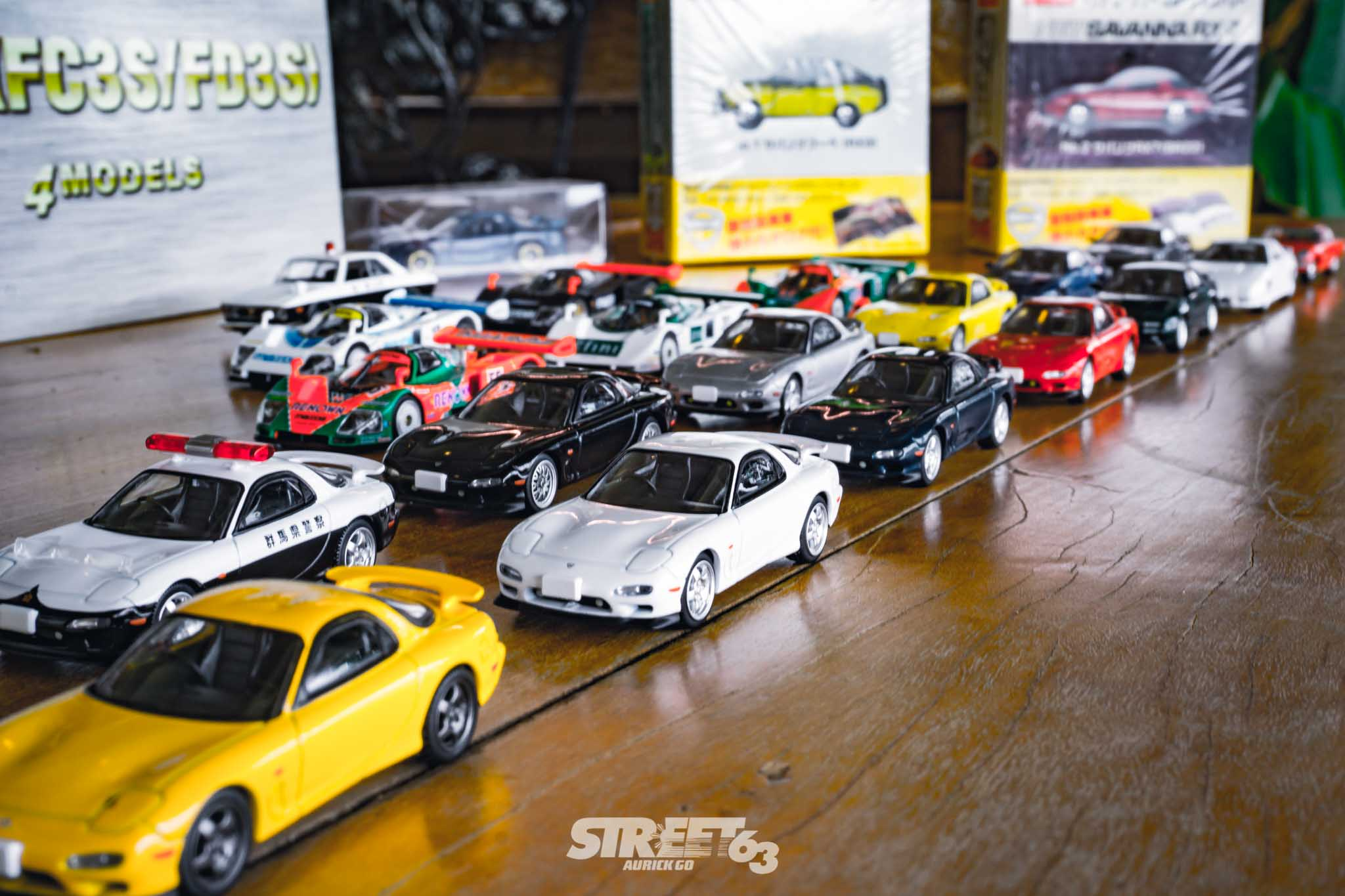 **Mini63:** The Street63 Diecast Collection