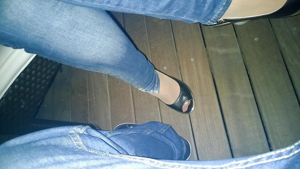 Lesbian foot fetish nylon-9541