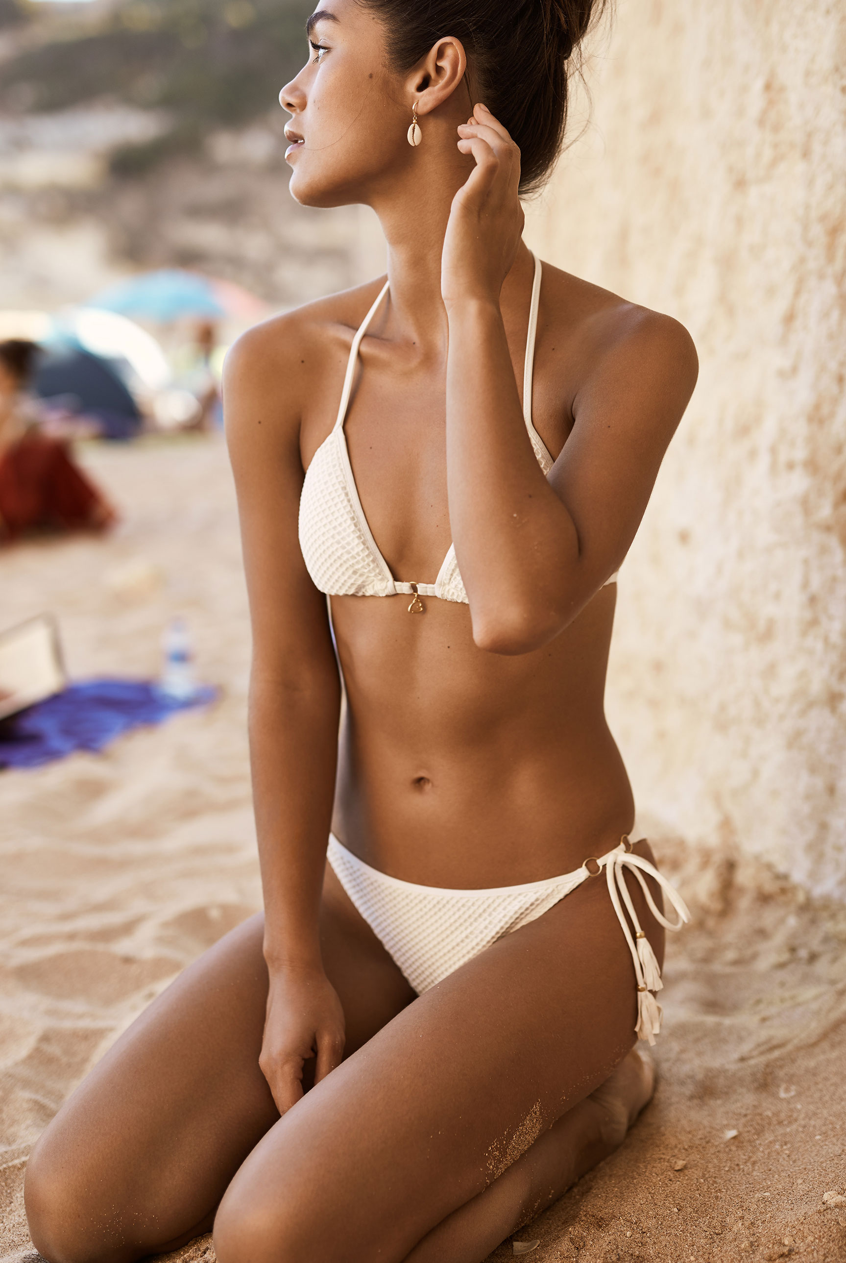 Наринэ Матецкая в купальниках и пляжной одежде BananaMoon, сезон весна-лето 2020 / фото 12