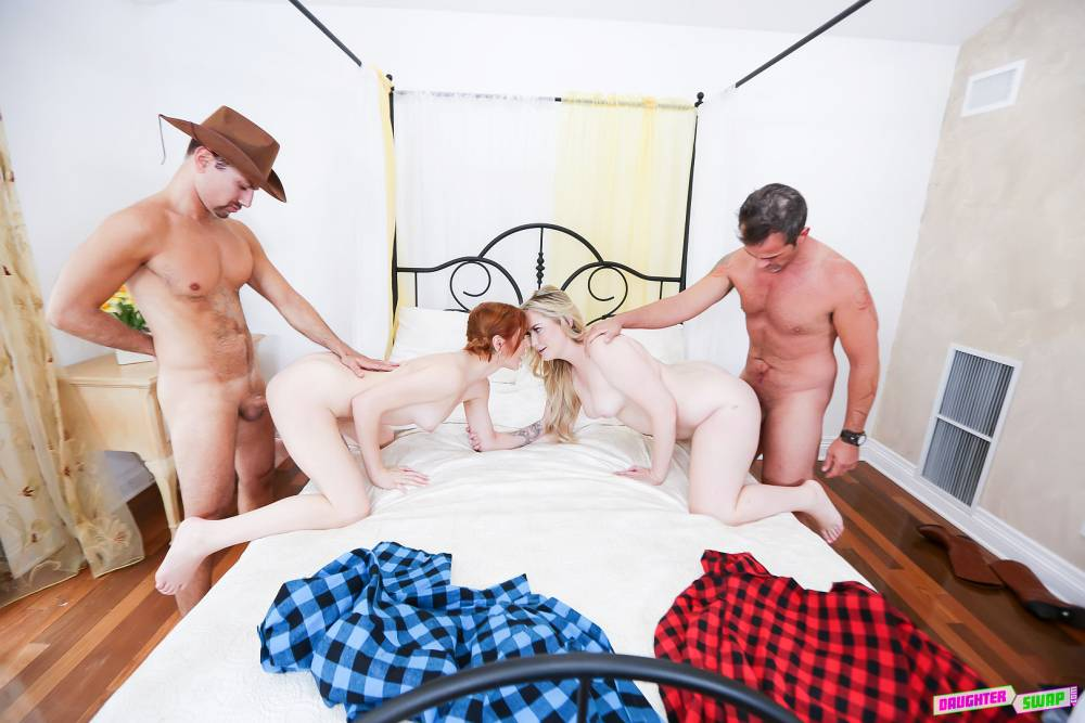 Britney Light, Rosalyn Sphinx, Rusty Nails, Calvin Hardy – Do-Si-Do Daughter Bang – Daughter Swap