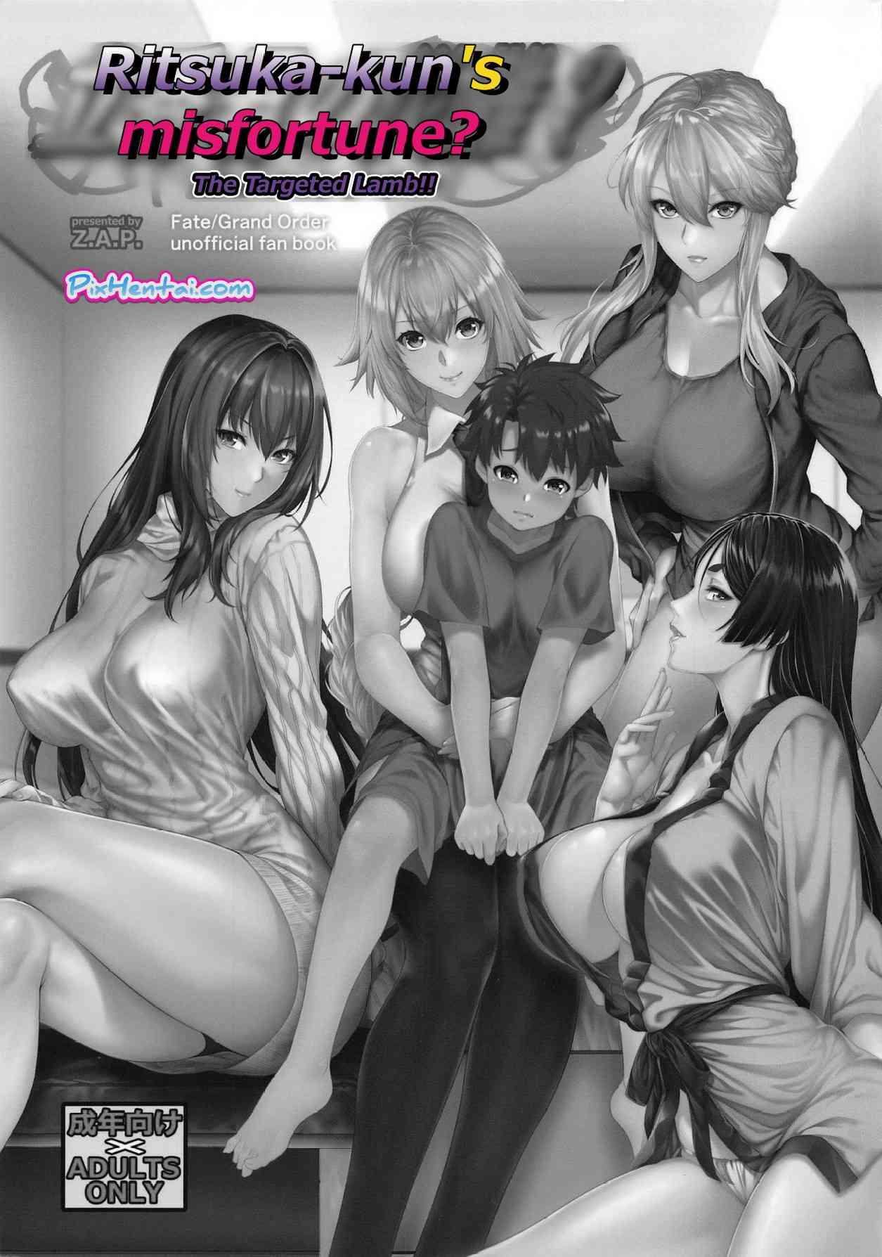 Komik Hentai Ritsuka-kun's Misfortune? The Targeted Lamb!! Manga Sex Porn Doujin XXX Bokep 02