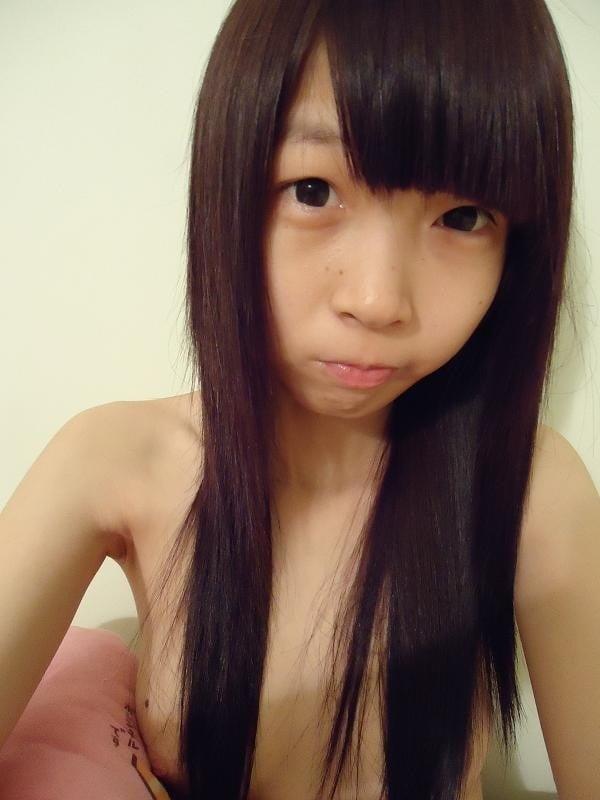 Busty teen selfie nude-9880