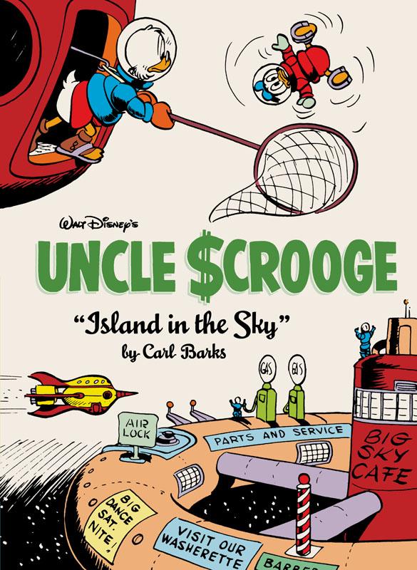Walt Disney's Uncle Scrooge v24 - Island in the Sky (2021)