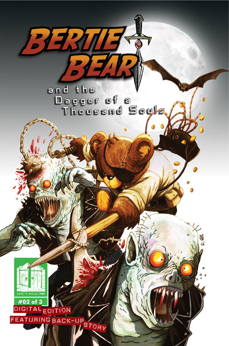 Bertie Bear and the Dagger of a Thousand Souls #1-3 (2013-2014) Complete