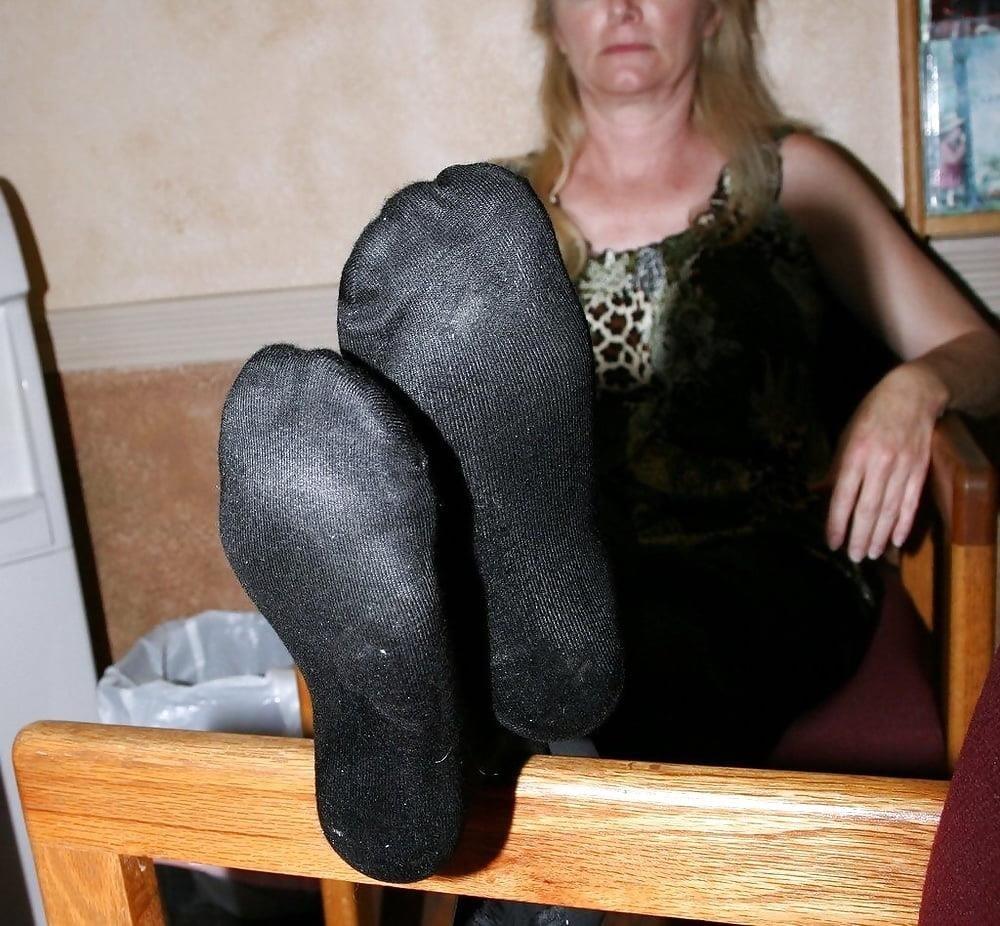 Mature foot fetish sex-5205