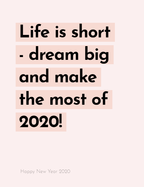 Happy New Year 2020 Wishes Quotes, Happy new year inspiration night 2020, wishes, messages & greetings 10