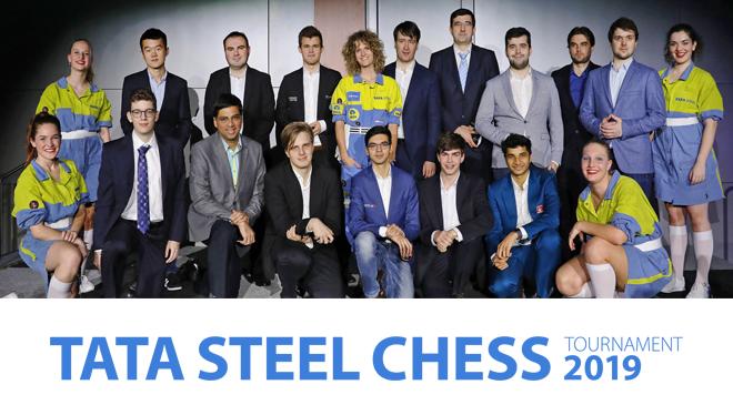 (MD) Tata Steel Chess Tournament 2019