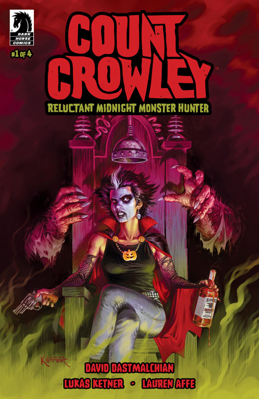 Count Crowley - Reluctant Midnight Monster Hunter #1-2 (2019)