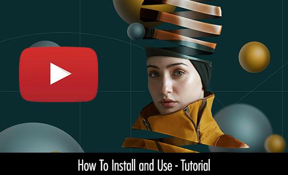 Escher Ribbon FX Photoshop Add-On Extension - 8