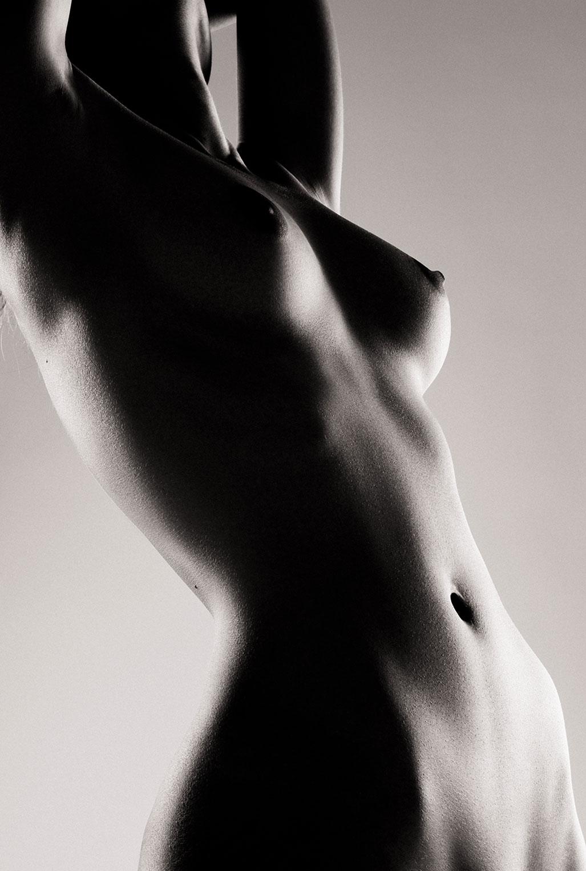 Голая модель Милунель, фотограф Бенджамин Вингриф / фото 16