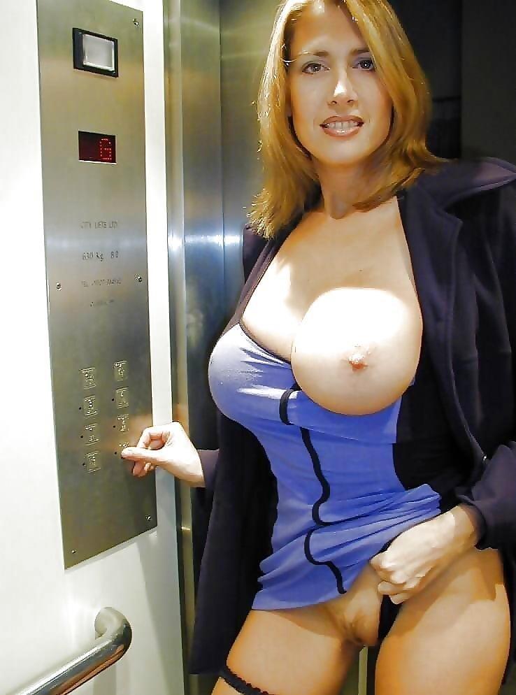Busty public nudity-5650