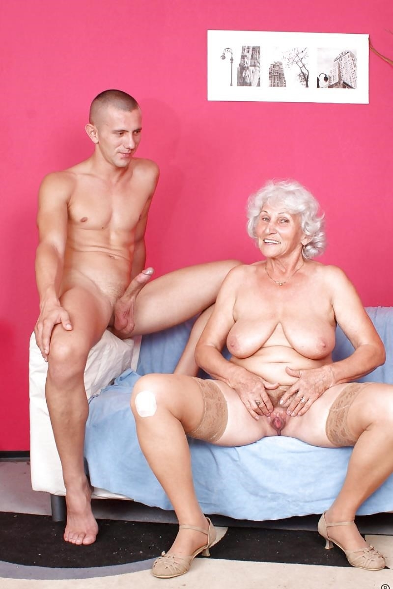 Teen and granny lesbian-7707