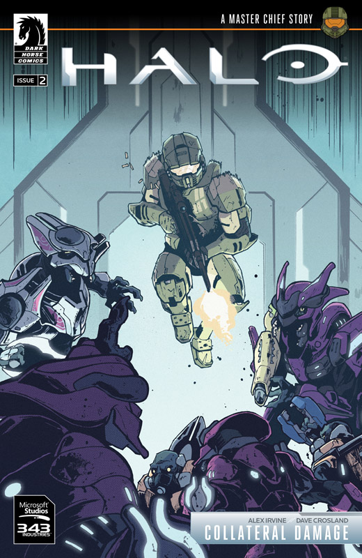 Halo - Collateral Damage #1-3 (2018)
