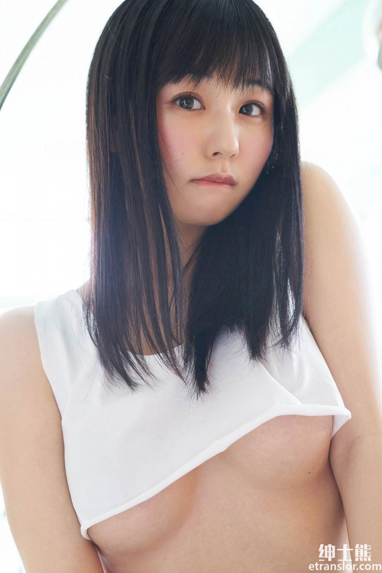 不用出门,栗田惠美短衬衫写真为你完美展示南半球 养眼图片 第14张