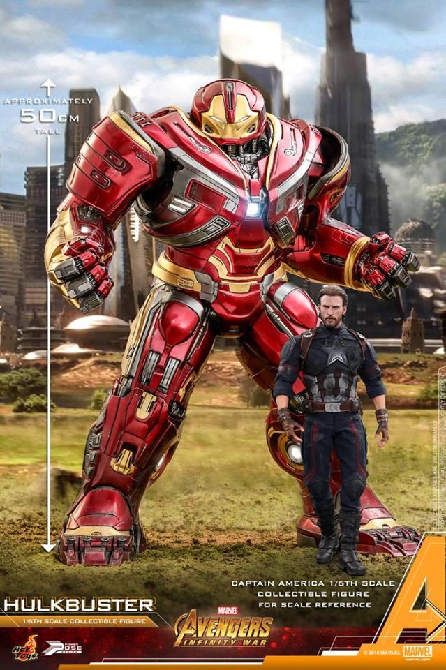 Avengers Infinity War - HulkBuster Mark 2 1/6 (Hot Toys) RiaOQTO4_o