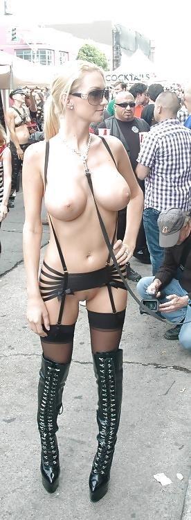 Amateur women naked in public-7827