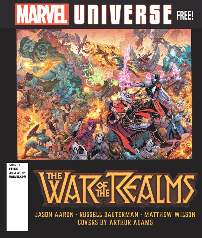 War Of The Realms Magazine 001 (2019)
