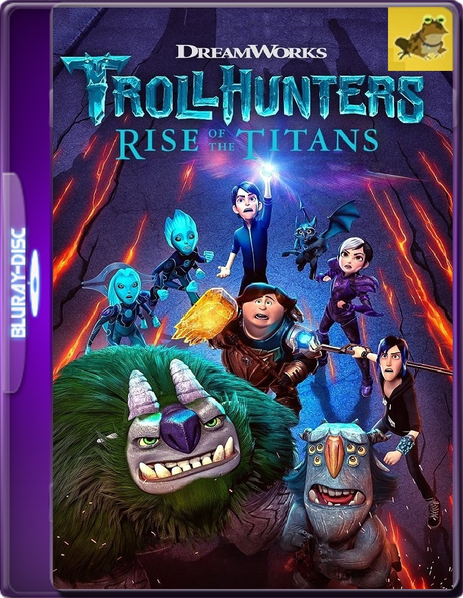 Trollhunters: El Despertar De Los Titanes (2021) WEB-DL 1080p (60 FPS) Latino / Inglés