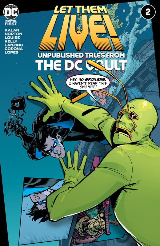 Let Them Live! - Unpublished Tales from the DC Vault #1-5 (2021)