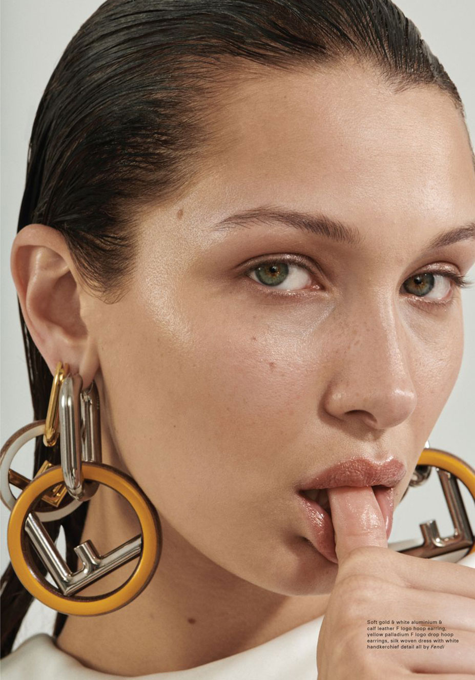 Bella Hadid by Stevie Dance - Pop Magazine issue 49 fall/winter 2018/19