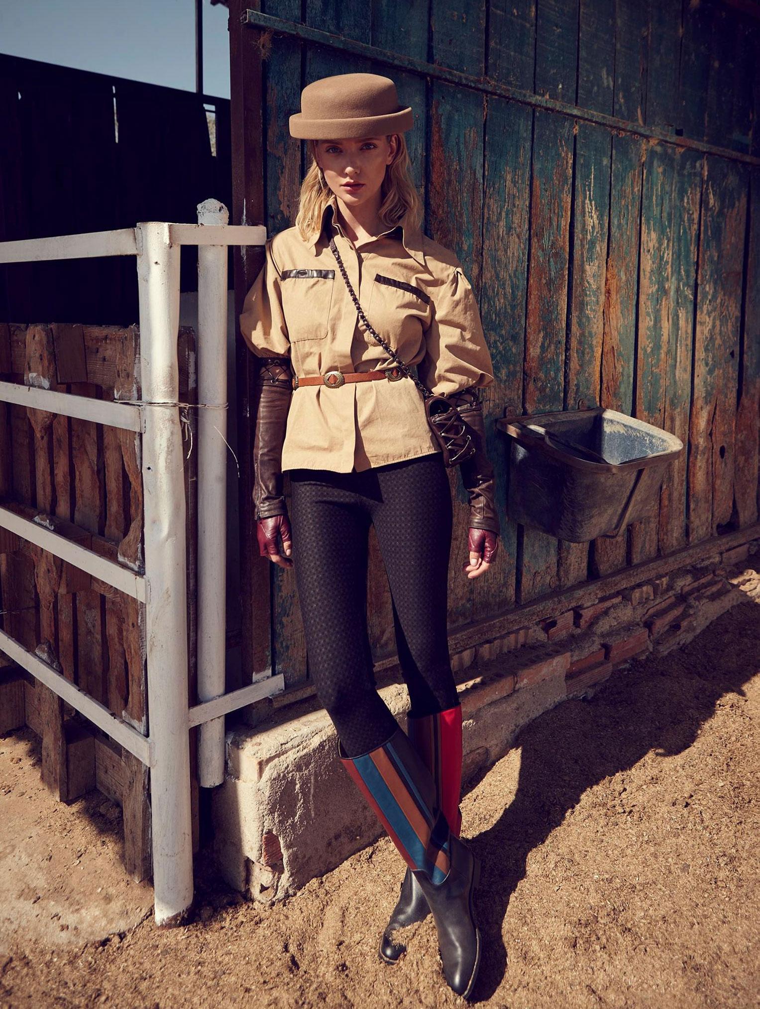 Девушка и конь / фото 04