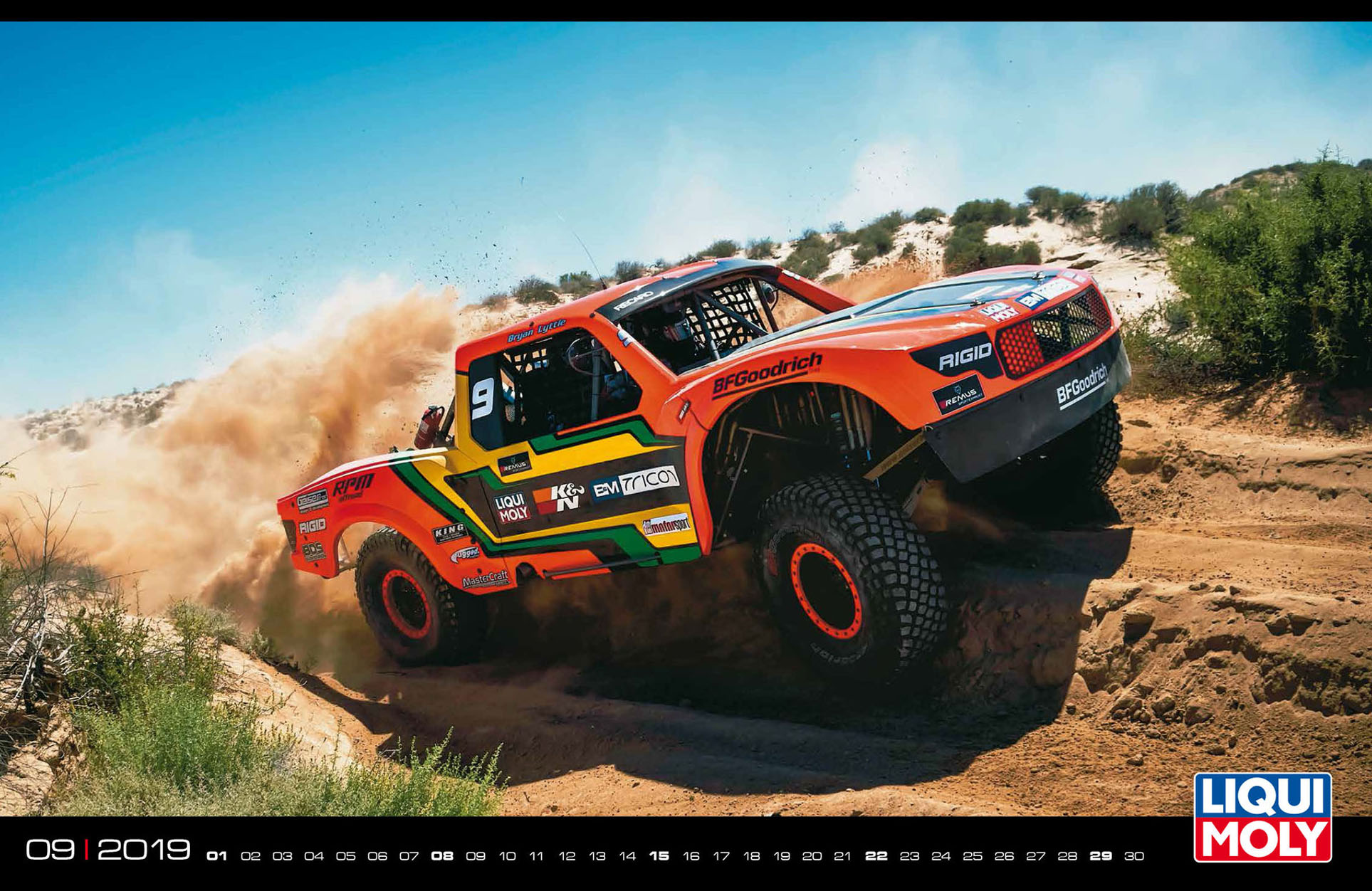 Liqui Moly MotorSport 2019 calendar