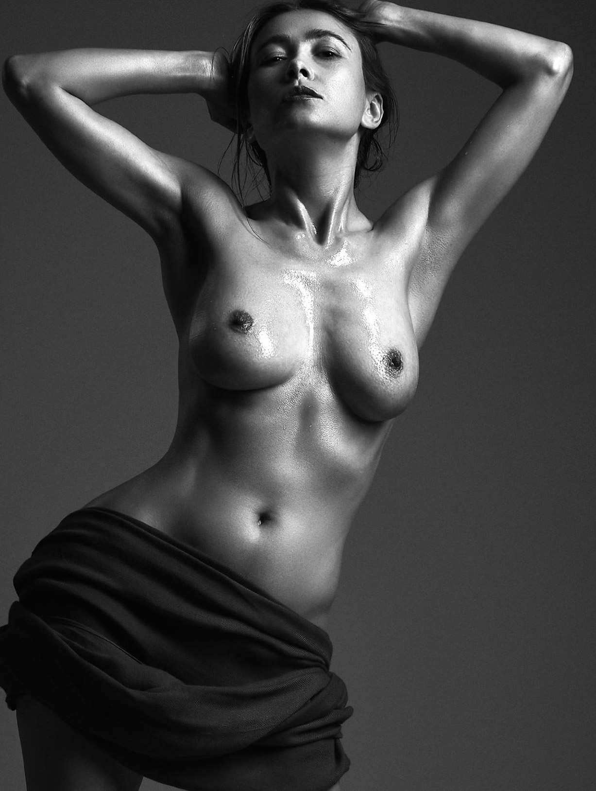 Genia Kykolka nude by Anthony Morrow - Volo Magazine february 2018