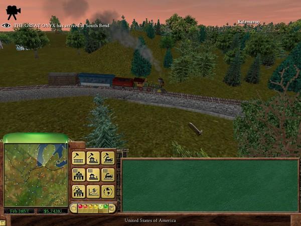 Railroad Tycoon 3 Captura 1