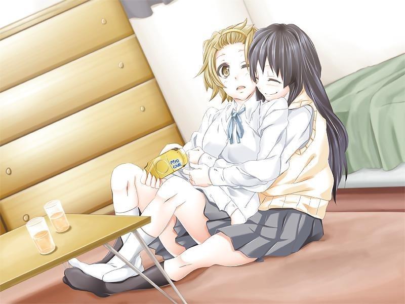 Lesbian anime pics-8156