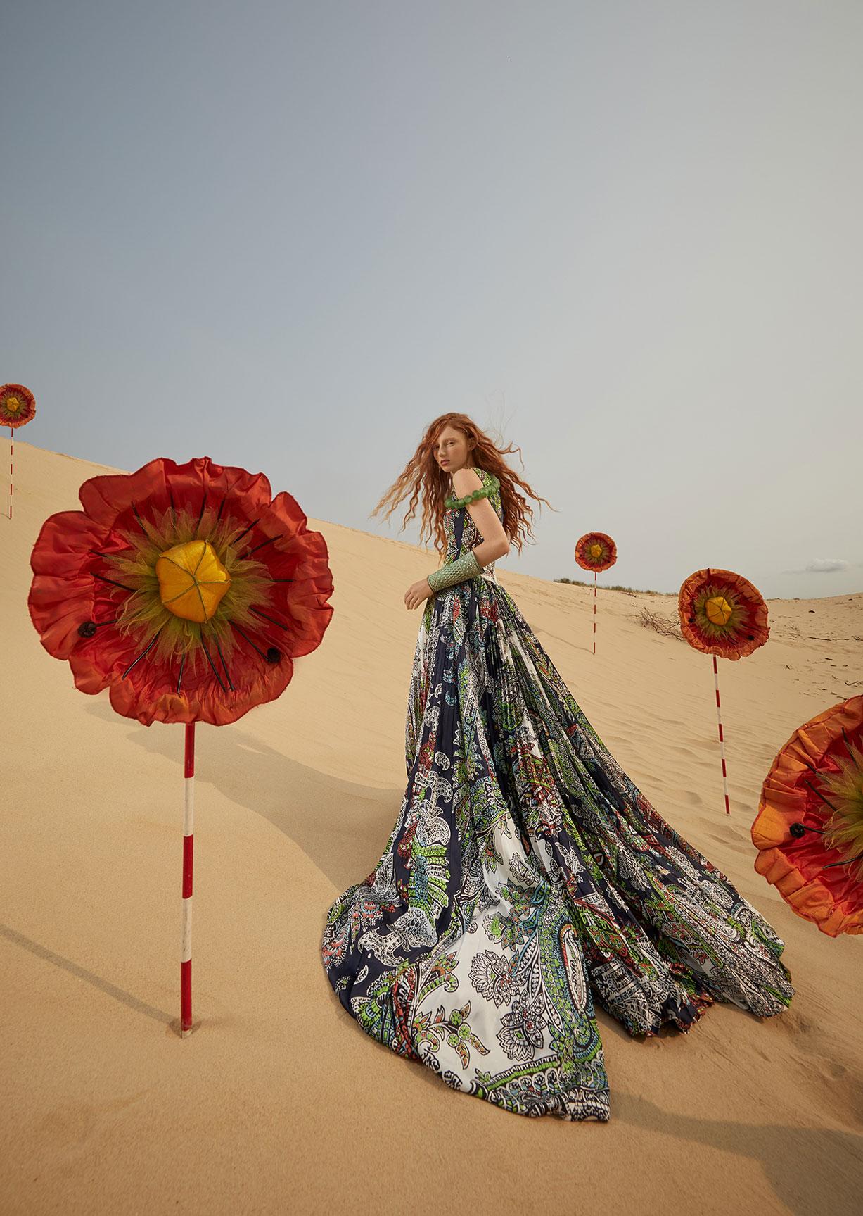Модный маскарад в журнале Grazia / фото 03
