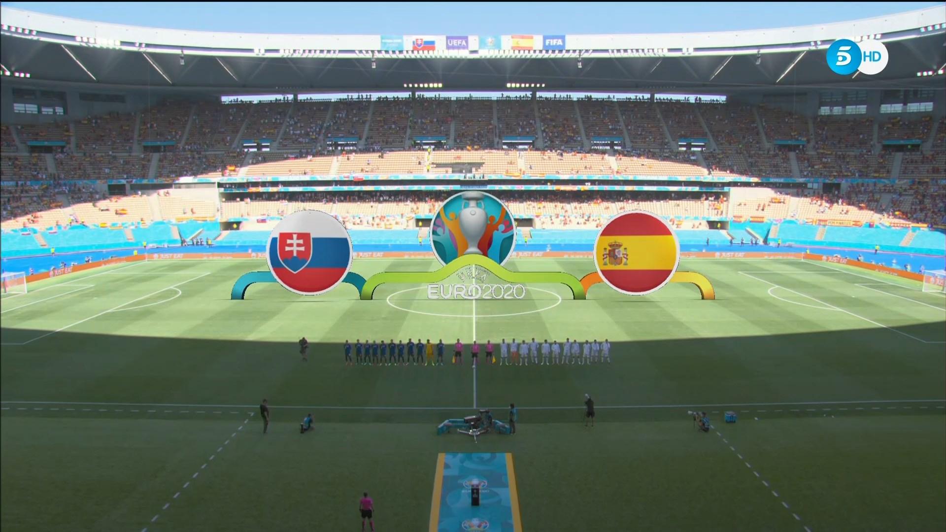 Full match: Slovakia vs Spain