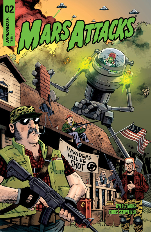 Mars Attacks #1-5 (2018-2019)