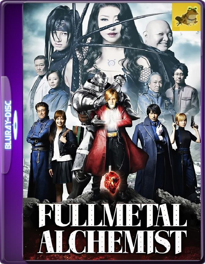 Fullmetal Alchemist (2017) Brrip 1080p (60 FPS) Latino / Japonés