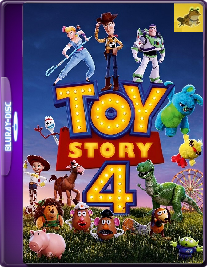 Toy Story 4 (2019) Brrip 1080p (60 FPS) Latino