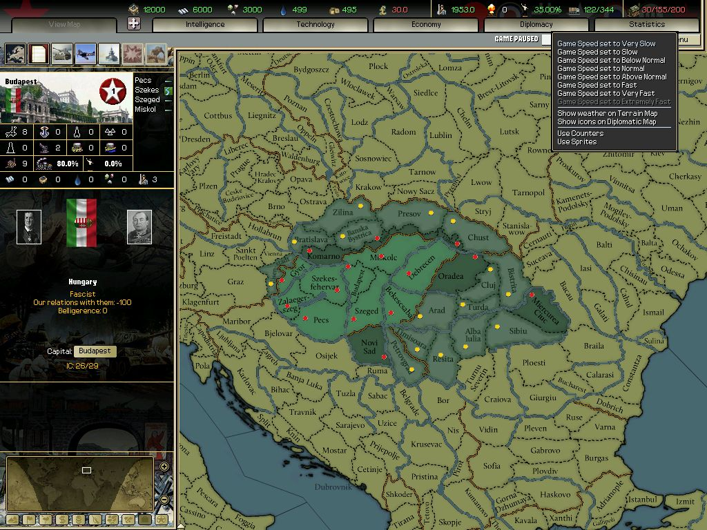 Darkest Hour: A Hearts of Iron Game Captura 3