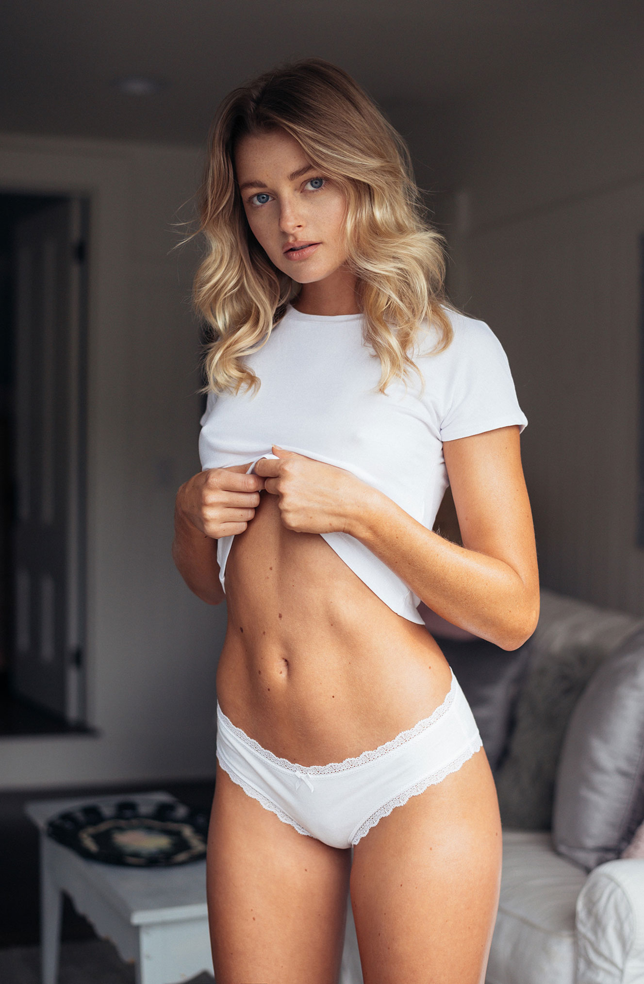 Miss February 2018 / Megan Samperi by Christopher von Steinbach / Playboy USA january-february 2018