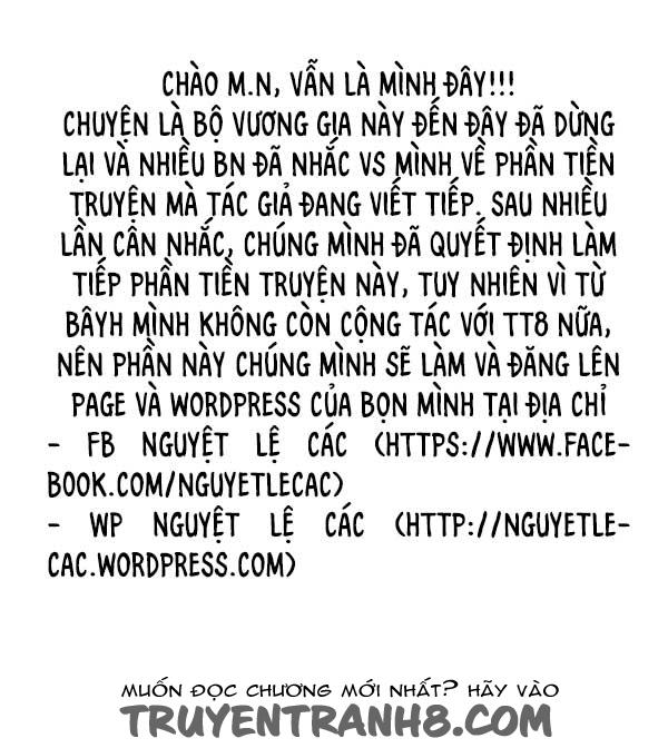 Làm Vương Gia Không Dễ Chap 83 . Next Chap 84