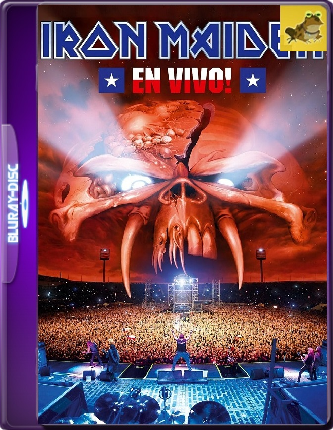 Iron Maiden: En Vivo! (2012) Brrip 1080p (60 FPS) Inglés