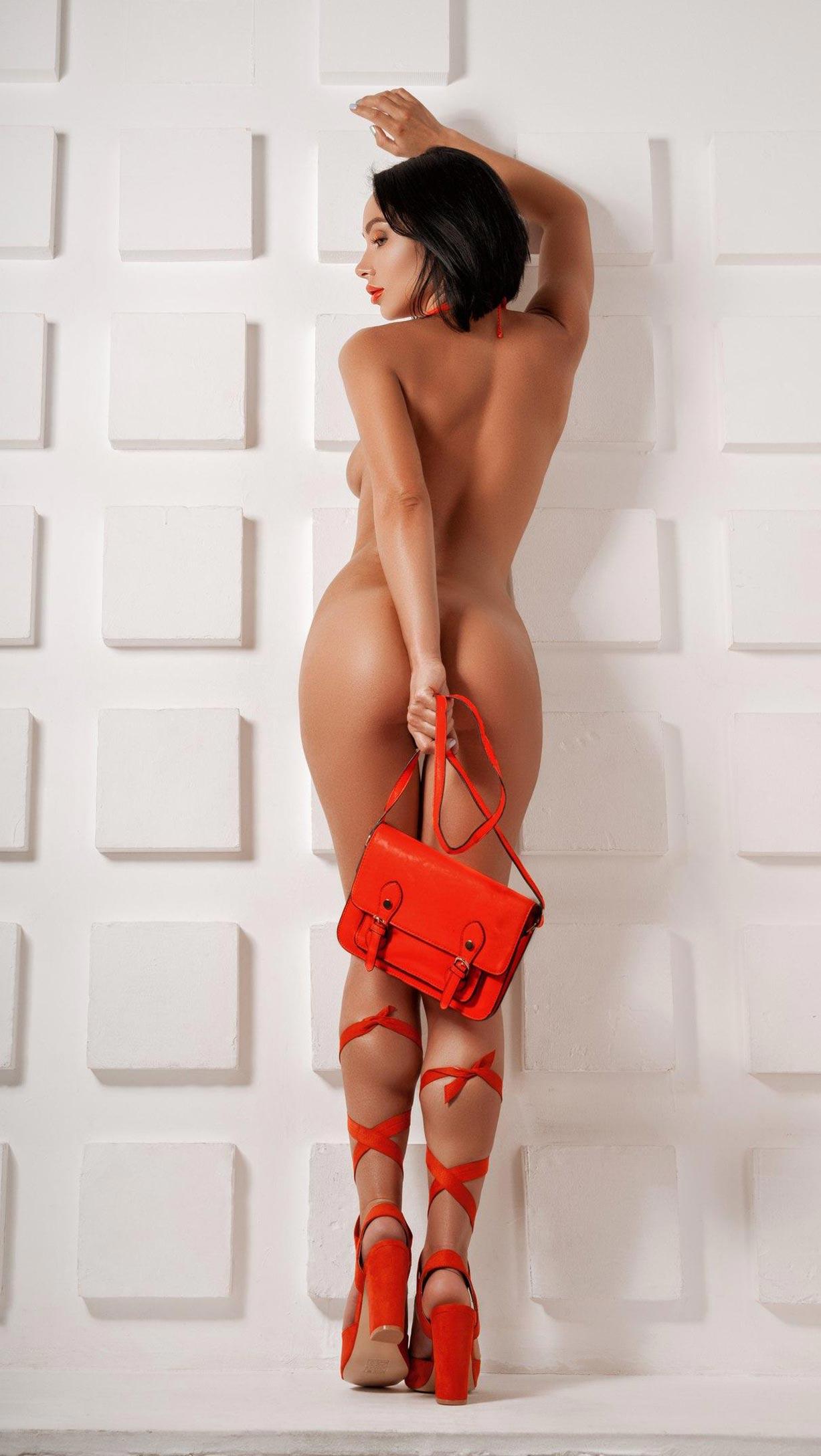 Олеся Левина и оранжевая мода / фото 04