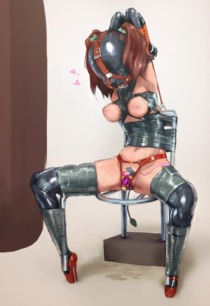 Hard bondage hentai-9284