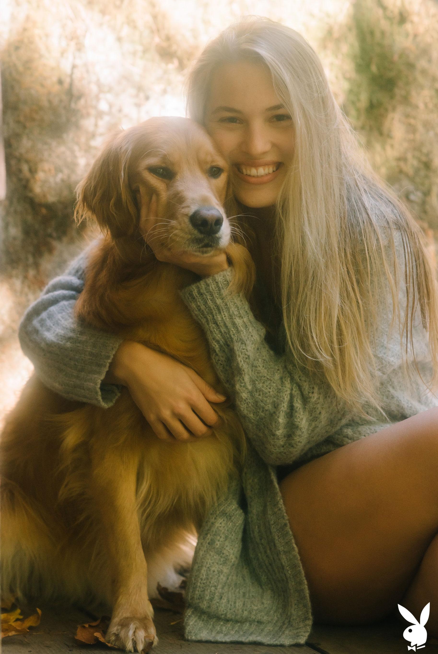 Меган Мур - Девушка месяца февраль 2019 Playboy США / фото 24