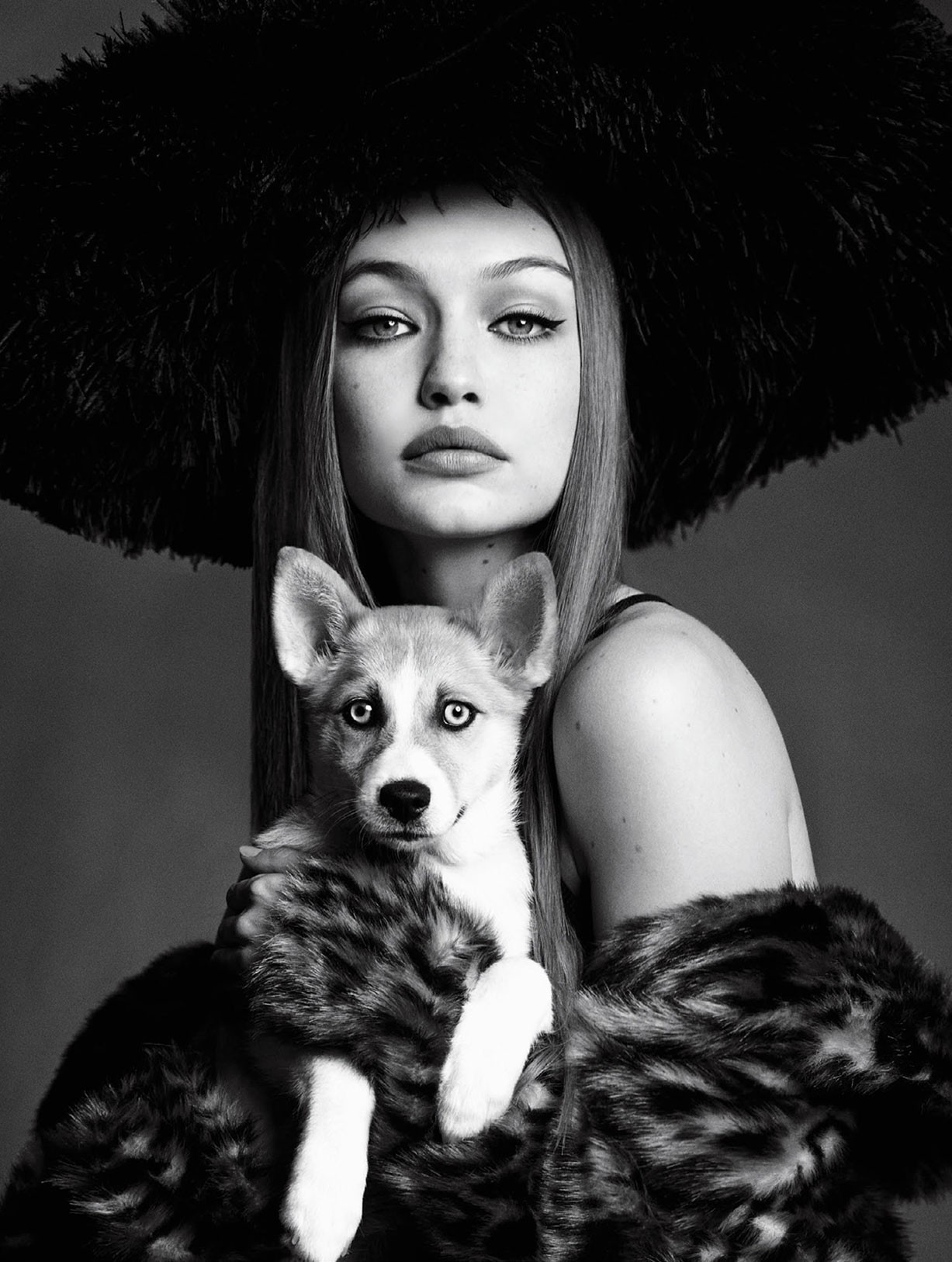 Gigi Hadid by Luigi Murenu and Iango Henzi - Vogue Japan november 2017