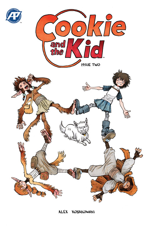 Cookie and the Kid #1-4 (2019)