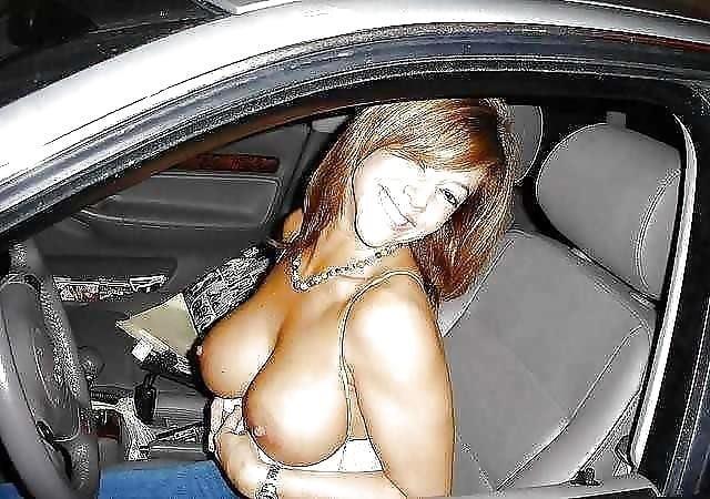 Busty public nudity-5975