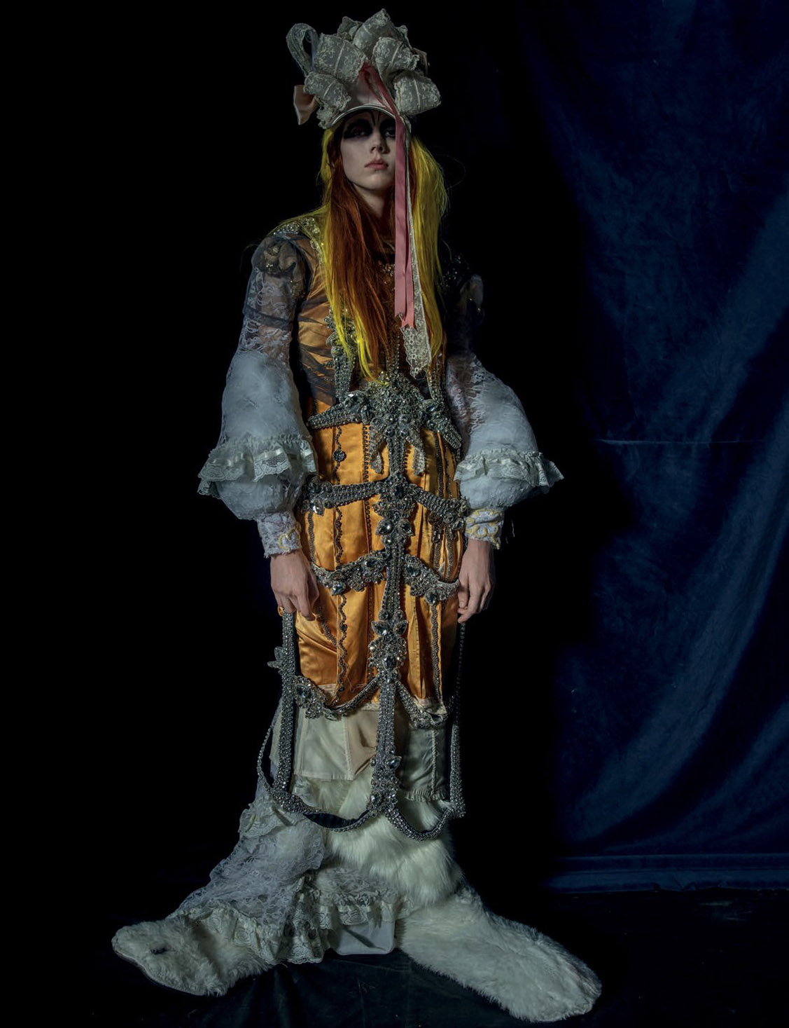 Moomin Goth / Natalie Westling by Tim Walker - Love spring/summer 2018