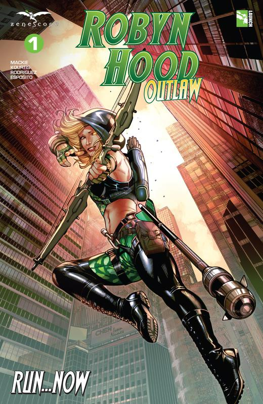 Robyn Hood - Outlaw #1-6 (2019) Complete